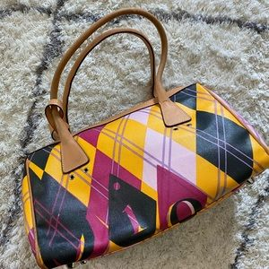 Authentic Christian Dior Argyle Golf Bag